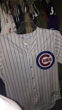 White chicago cubs jersey shirt brand new paid 100$