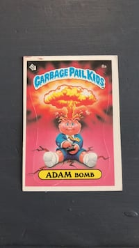 Garbage Pail Kids Card Adam Bomb Georgetown, L7G 5Y1