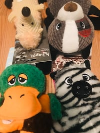 4 Toss, tug, squeak and fetch dog toys! Silver Spring, 20904
