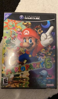 Mario Party 6 Gamecube WORKING disk has few scratches