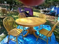 Two year old table and chairs from Bernie and phyl with leaf or BO Taunton, 02780