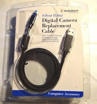 New RadioShack 6ft Digital Camera Replacement Cord #26-195. I Take Trades. Martinez