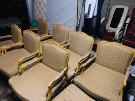 Armchairs set if 7