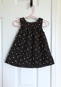 H&M baby girl's star corduroy dress size 6-9 months- worn only once Mississauga, L5M 0C5