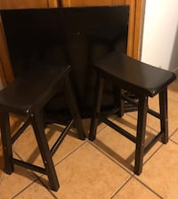 SMALLER SIZE BARSTOOL/HIGH TABLE & 2 STOOLS, 32x32 Vallejo, 94591