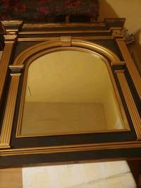 brown wooden framed wall mirror Silver Spring, 20906