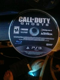 Call of Duty Black Ops 3 PS3 game disc Stockton, 95202