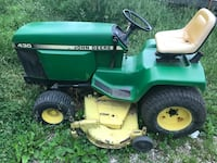 """John Deere 430 w/ Front Loader, Hydraulic Blade and 60"""" Deck Grain Valley"""