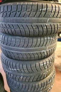 215 60 16 Michelin x ice winter tires