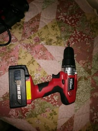 red and black Black & Decker cordless hand drill El Paso, 79924