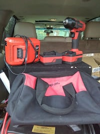 red Snap-On cordless drill kit Cartersville, 30120