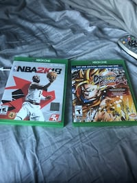 2k 18 (Xbox one) dragonball z fighter z (Xbox one) Bellport, 11713