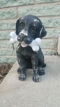 Garden Decor Dog statue see4 pictures  Oak Lawn, 60453