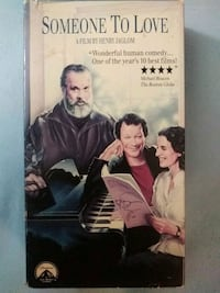Someone To Love vhs