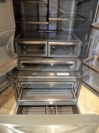 KITCHEN AID STAINLESS STEEL FRIDGE Toronto