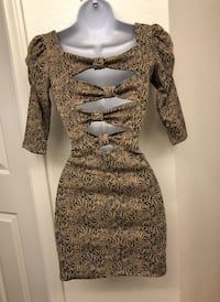 Women's brown long sleeve dress Las Vegas, 89130