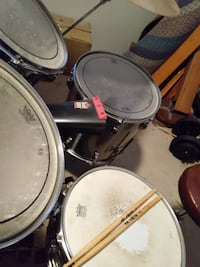 Tama swingstar drums, Zildjian cymbals