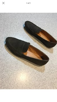 JCREW women's suede and leather loafers size 8.5 Concord, 03301