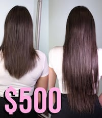 Hair extensions service Vancouver