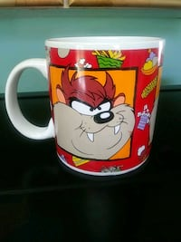 TASMANIAN DEVIL COFFEE MUG!