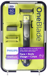 Philips OneBlade Face & Body Kit with Li-Ion Handle QP2630/21 542 km