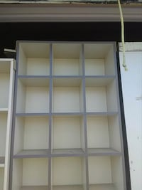 "Double sided shelving 36"" by 8' several  Foley"