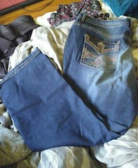 Worn once size 26w jeans Los Angeles, 90230