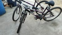 2 identical bikes girls mountain bikes  Bowie