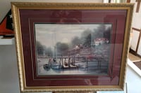 brown wooden framed painting of house Virginia Beach, 23453