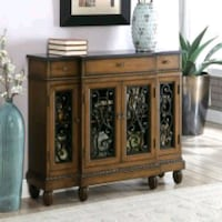 brown wooden cabinet with drawer Fresno