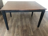 Rectangular brown wooden table with chairs Hyattsville, 20782