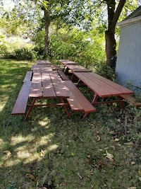 Picnic tables  Cleveland, 44105