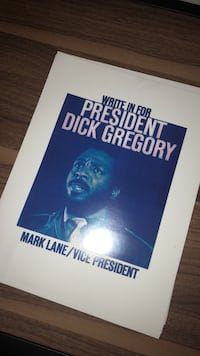 Dick  Gregory For President Chicago, 60643
