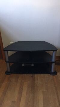 black wooden 3-layer TV stand Dartmouth, B2Y 2J1