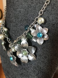 silver-colored and white beaded necklace Oro Valley, 85755