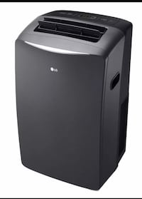 LG Electronics 14.000 BTU Portable Air Conditioner with Heat. Dehumidifier. and LCD Remote Plano, 75074