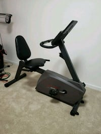 black and gray stationary bike Chicago, 60602