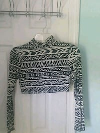 black and white tribal print sweater Hinesville, 31313