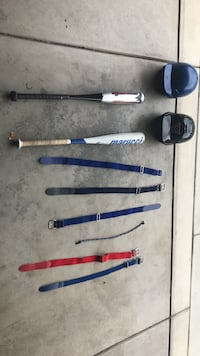 Youth baseball equipment. Everything in good shape. All prices negotiable  Eugene, 97405