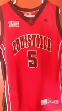 Stitched Louisville Cardinals NCAA Jersey