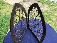 """Metal gate wall candle holder decor New $45  Holds 4 candles 27"""" x 34-1/2"""" Cleveland, 44135"""