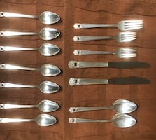 1847 Roger Bros Eternally Yours Silver Plated Flatware