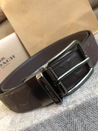 Coach Wide Cut-To-Size Reversible Men's Belt