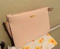 Crossbody bag great condition blush pink color