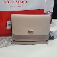 Authentic Kate Spade Purse Beige - new