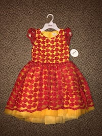 "Disney Collection By TUTU COUTURE Dress ""Belle"" Size: 8 Monrovia, 91016"