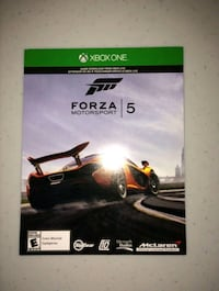 Forza 5 (Xbox one game)