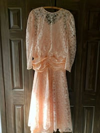 Beautiful Peach high low dress Independence, 44131