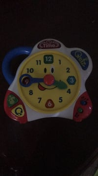 Clock learning toy