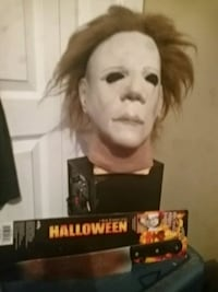Michael Myers mask and official license knife  Edmonton, T5C 0E9